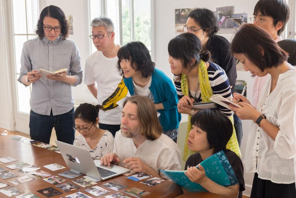 Kyoto, masterclass au festival KYOTOGRAPHIE, mai 2016. Photo: Ma Yumi