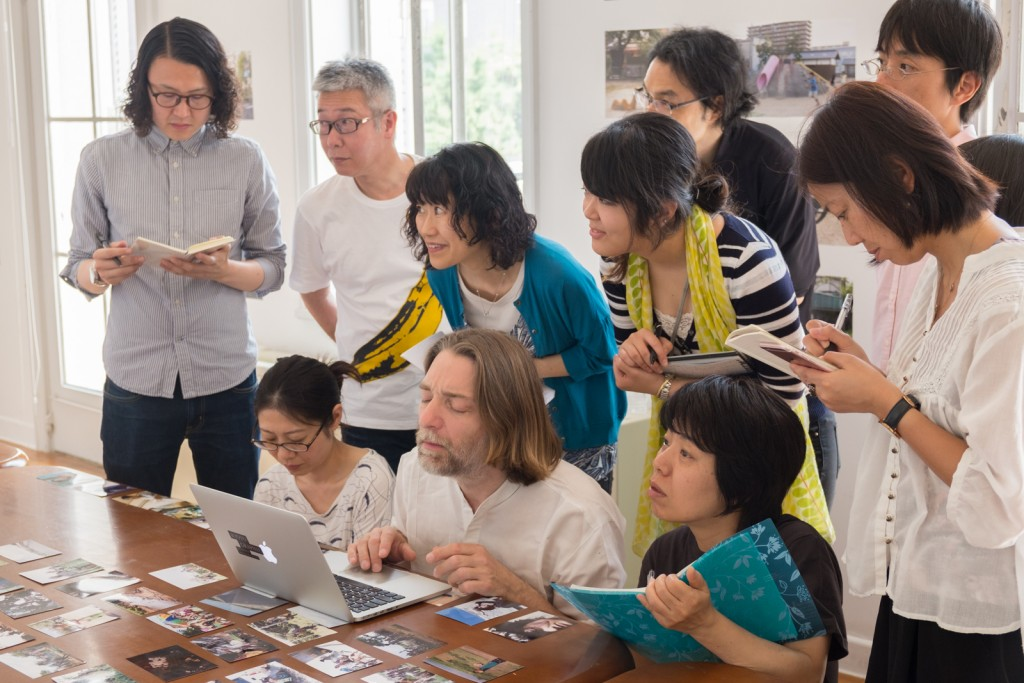 Masterclass in Kyoto during the kyotogrzphie festival, may 2016. Photo Ma Yumi