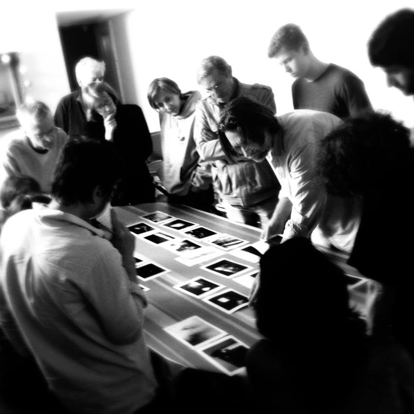 Workshop avec Klavdij Sluban en 2015